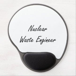 Nuclear Waste Engineer Artistic Job Design Gel Mouse Pad