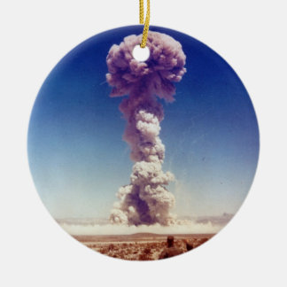 Nuclear Weapons Test Operation Buster-Jangle 1951 Ceramic Ornament