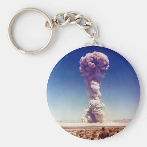 Nuclear Weapons Test Operation Buster-Jangle 1951 Keychains
