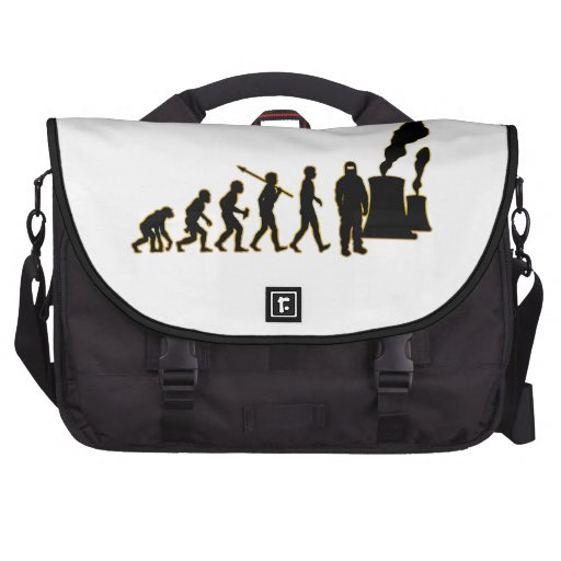 Nuclear Worker Laptop Commuter Bag