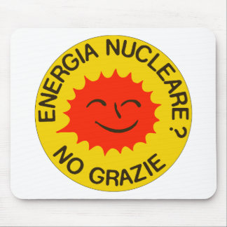 Nucleare NO GRAZIE! Mousepads