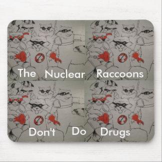 nuclearraccoonss, nuclearraccoonss, nuclearracc... mouse mat