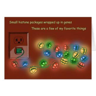 Nucleosome Lights Card