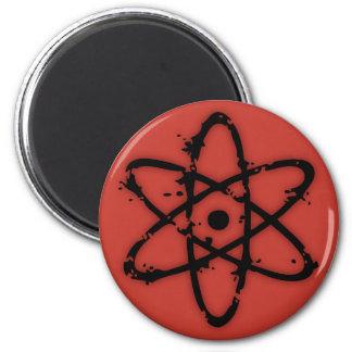 Nucular Atomics! 6 Cm Round Magnet
