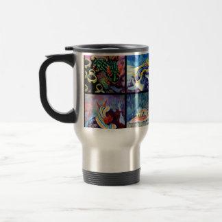 Nudi Art- Stainless Steel 15 oz Travel Mug