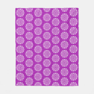 Nudibranch Mandala Fleece Blanket