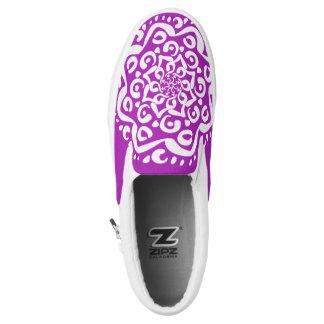 Nudibranch Mandala Slip On Shoes