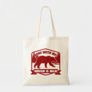 Nudist Tote Bag