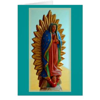 """""""Nuestra Señora de Guadalupe"""" Card"""