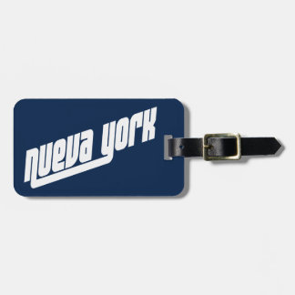 Nueva York New York City luggage i.d. tag