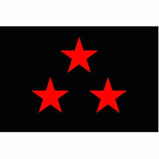Nuevo Rico, Democratic Republic of the Congo flag Acrylic Cut Out
