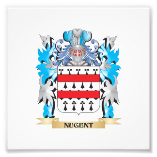 Nugent Coat of Arms - Family Crest Photo Print