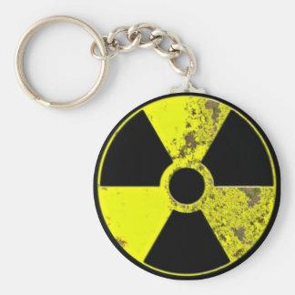 Nuke Basic Round Button Key Ring