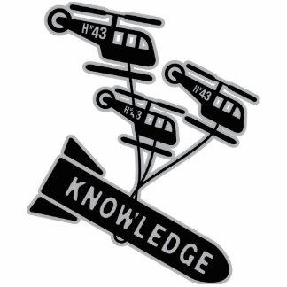 Nuke Knowledge Photo Sculpture