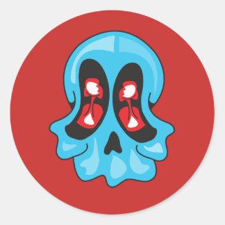 Nuke Skull sticker