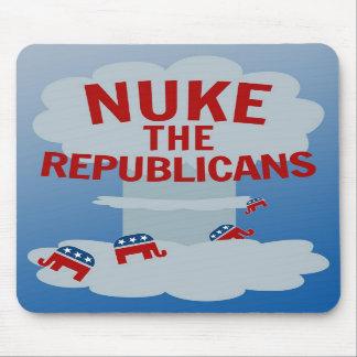 Nuke the Republicans Mousepads