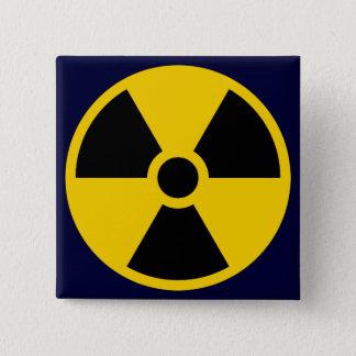Nukes 15 Cm Square Badge