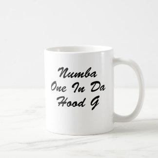 Numba One Basic White Mug