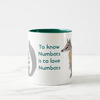 Numbat Two-Tone Coffee Mug