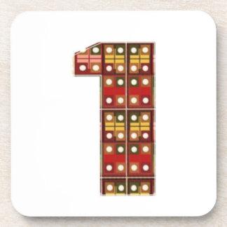 NUMBER1 NumberONE Encourage Achievement Coaster
