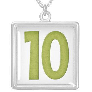 Number 10 Necklace Design 4