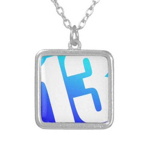 Number 13 pendants | Zazzle