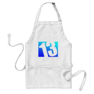 Number 13 standard apron