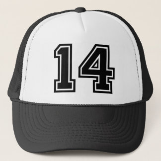 Number 14 Classic Trucker Hat
