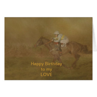 NUMBER 16 GREETING CARD