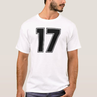 Number 17 frontside print T-Shirt