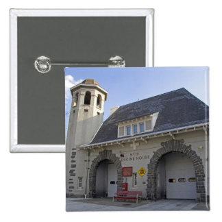 Number 19 Engine House in Washington, D.C. 15 Cm Square Badge