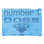 Number 1 Boss in Blue