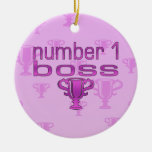 Number 1 Boss in Pink