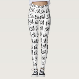 Number 1 boss Leggings