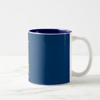 Number 1 Boss Mug-1 Two-Tone Mug