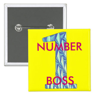 Number 1 Boss-Pin