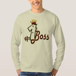 Number 1 boss t-shirts for men