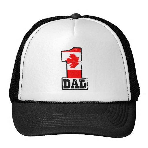 Number 1 Canadian Dad Hat