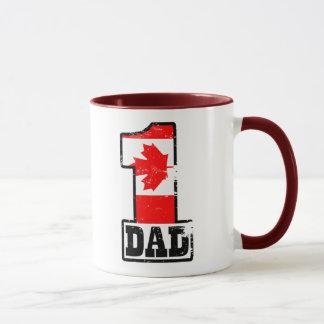 Number 1 Canadian Dad Mug