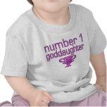 Number 1 Goddaughter Tee Shirts