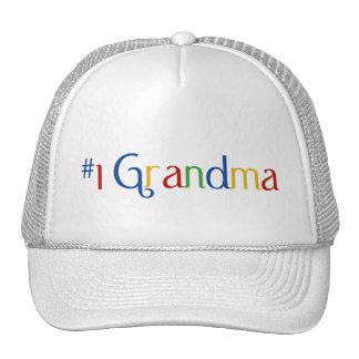 Number 1 Grandma Cap