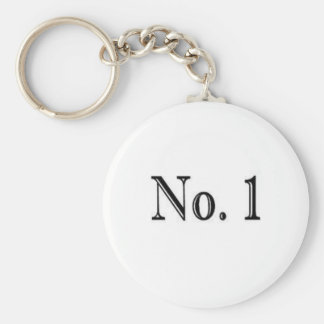 Number 1 key ring