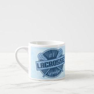 Number 1 Lacrosse Grandpa Jumbo Mug