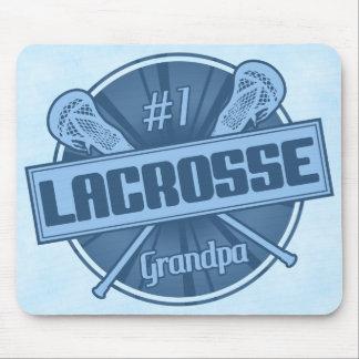 Number 1 Lacrosse Grandpa Mousemat
