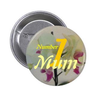Number 1 Mum Button