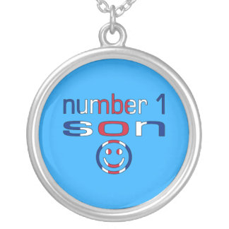 Number 1 Son ( Son's Birthday ) Silver Plated Necklace