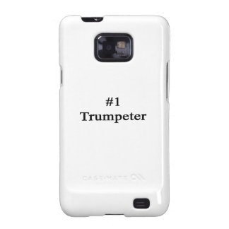 Number 1 Trumpeter Samsung Galaxy S2 Cases