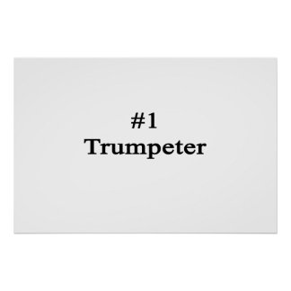 Number 1 Trumpeter Print