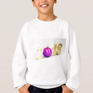 Number 2018 with Christmas ball Sweatshirt