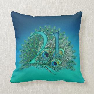 Number 21-21st birthday-21st anniversary pillow